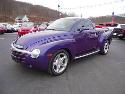 2004 Chevrolet SSR LS 2dr Regular Cab Convertible Rwd SB 2004 Chevrolet SSR LS 2dr Regular Cab Convertible Rwd SB 5.3L V8 Automatic 4-Spe
