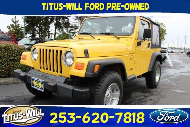 Jeep Wrangler 2000 Cars For Sale