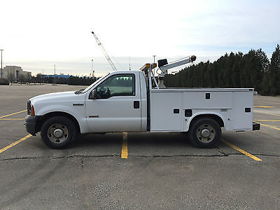 2006 Ford F-250 xl 2006 Ford F250 XL Utility Bed Work Truck Diesel 144k Runs Great