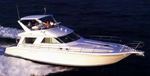 1999 Sea Ray 550 Sedan Bridge