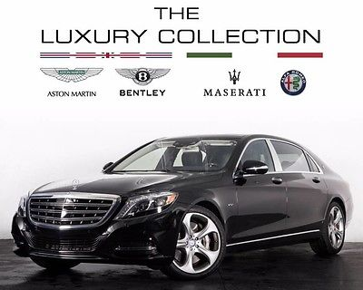 2016 Mercedes-Benz S-Class 2016 Mercedes-Benz Maybach S600
