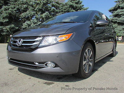 2017 Honda Odyssey Touring Automatic Touring Automatic New 4 dr Van Automatic Gasoline 3.5L V6 Cyl Modern Steel Metal