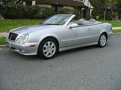 2003 Mercedes-Benz CLK-Class Silver tunning California Rust Free Mercedes Benz CLK Convertible Amazing Condition