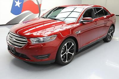 2014 Ford Taurus SEL Sedan 4-Door 2014 FORD TAURUS SEL HTD LEATHER NAV REAR CAM 20'S 24K #185116 Texas Direct Auto
