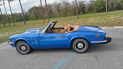 1977 Triumph Spitfire Convertible Award winning 1977 Triumph Spitfire 1500 convertible in Florida
