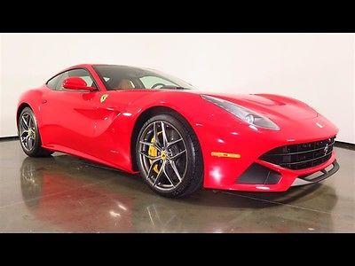 2015 Ferrari F12berlinetta -- 2015 Ferrari F12berlinetta Rosso Corsa V12 Ferrari