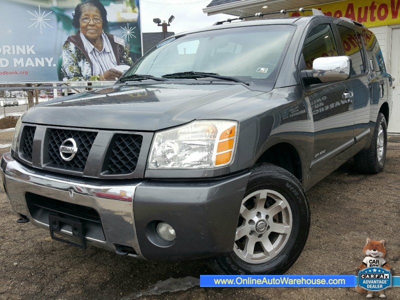 2004 *Nissan* *Pathfinder Armada* SE Off-Road 4WD FULLY LOADED LEATHER SUNROOF DVD NO RUST WE FINANC