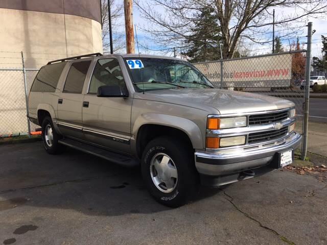1999 Chevrolet Suburban K1500 LT 4dr 4WD SUV