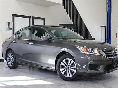 2014 Honda Accord LX 2014 Honda Accord LX 27,116 Miles Hematite Metallic Sedan 2.4 Automatic