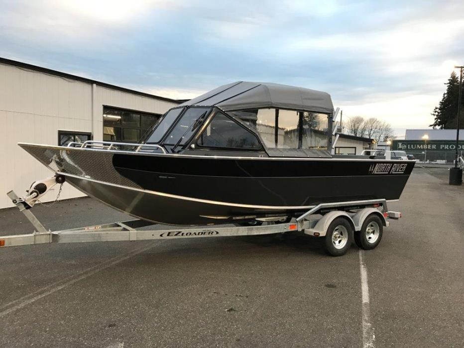 2017 North River 22 Seahawk Inboard Jet