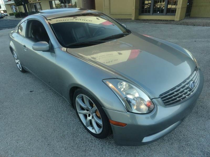 2004 Infiniti G35 Rwd 2dr Coupe w/Leather