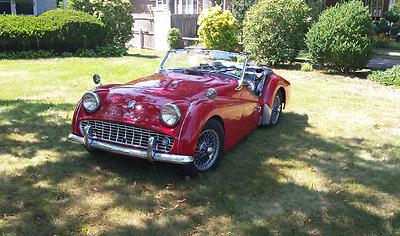 1963 Triumph Other BASE Triumph TR3B