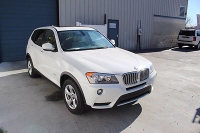 2011 BMW X3 xDrive28i Sport Utility 4-Door 2011 BMW X3 28i Leather NAV AWD SUV 11 3.0L F25 Knoxville TN