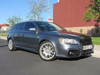2006 Audi S4 Avant Premium Plus 2006 Audi S4 Avant Wagon, 4.2L V8, 6-Speed, Recaro Seats, Sunroof, Michelins