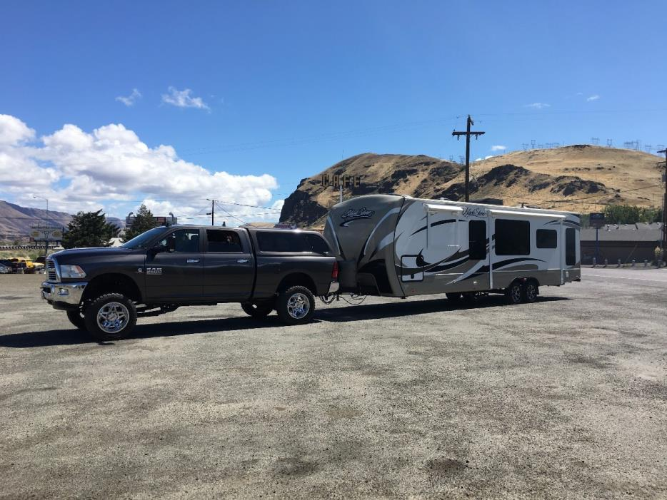 2013 Outdoors Rv Manufacturing BLACK STONE 280RLSB, 1