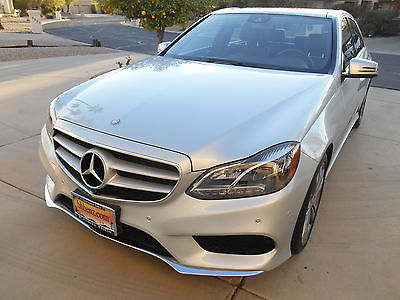 2015 Mercedes-Benz E-Class 2015 MERCEDES E350 ONLY 5000 MILES!!!