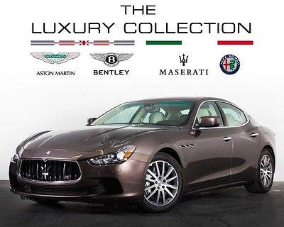 2014 Maserati Ghibli S Q4 Sedan 4-Door 2014 Maserati S Q4