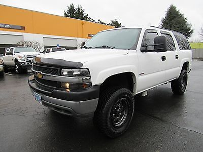 2004 Chevrolet Suburban LS 2500HD 2004 CHEVROLET SUBURBAN 2500 DURAMAX DIESEL ZF6 MANUAL 4X4 ONLY 1 IN THE COUNTRY