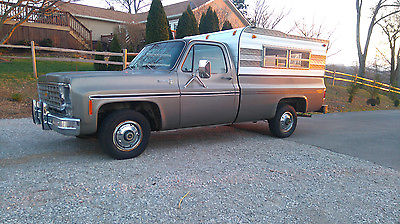 1976 Chevrolet C-10 1976 C10 scottsdale long 350 sbc 4bbl Tennessee truck, daily driver