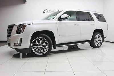 2016 Cadillac Escalade 2016 Cadillac Escalade Luxury AWD SUV Chrome Wheels Only 9300 Miles Stunning