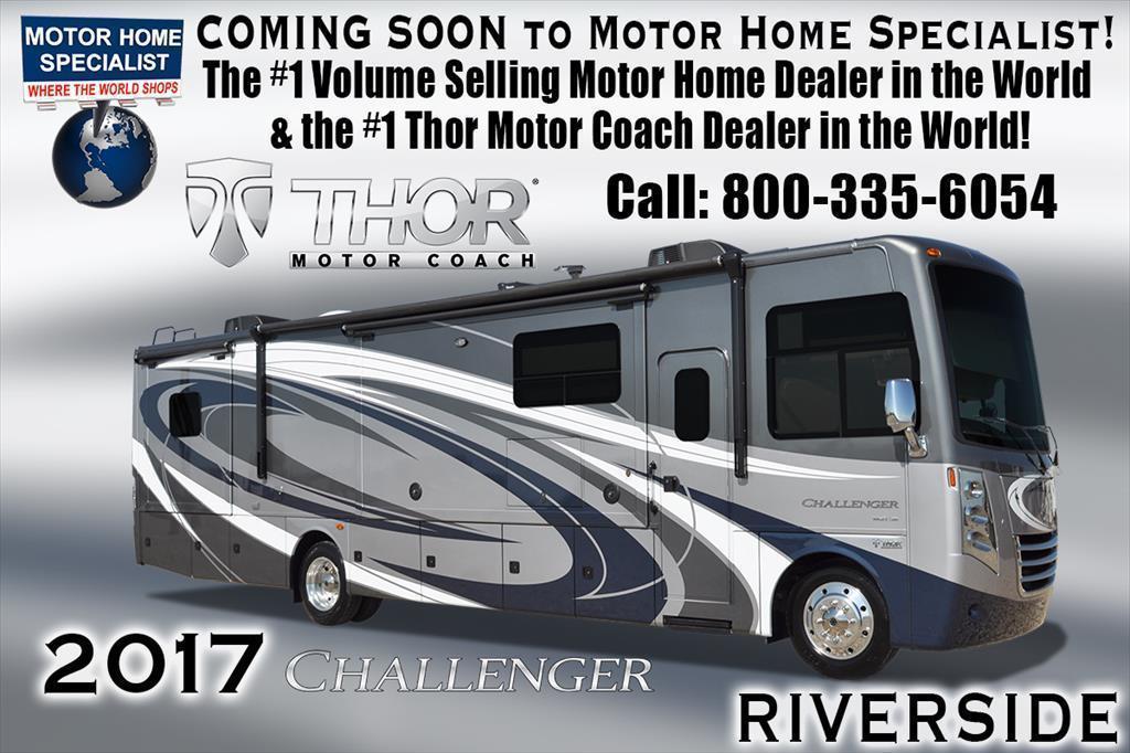 2017 Thor Motor Coach Challenger 37TB Bunk House Bath & 1/2 RV