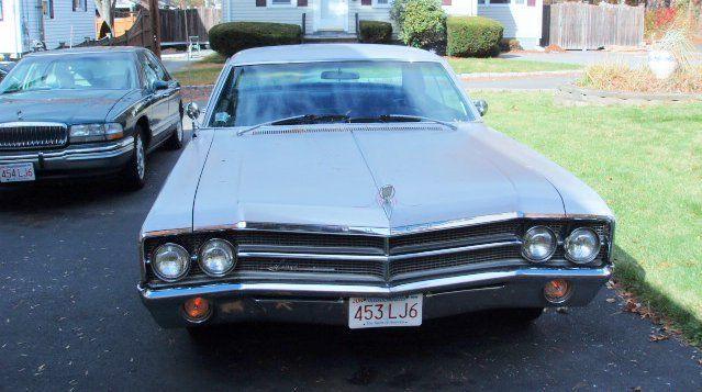 1965 Buick LeSabre Deluxe 400 Trim Pkg. 1965 Buick LeSabre - California No Rust Car - 112,000 Miles - Silver & Black