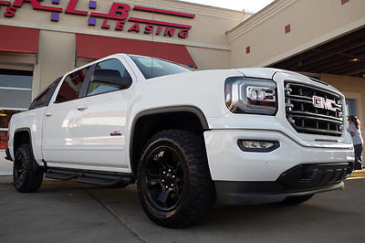 2016 GMC Sierra 1500 SLT Crew Cab Pickup 4-Door 2016 GMC Sierra 1500 Crew Cab SLT All Terrain 4x4, Navigation, Leather, Moonroof