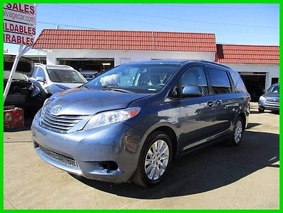 2015 Toyota Sienna LE 7 Passenger 2015 AWD SIENNA Automatic SALVAGE REBUILDER RUNS&DRIVES LOADED! WONT LAST!