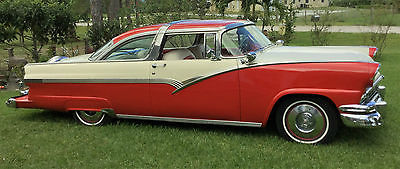1956 Ford Crown Victoria Fairlane 1956 FORD CROWN VICTORIA 56 CAR AUTOMOBILE AUTO