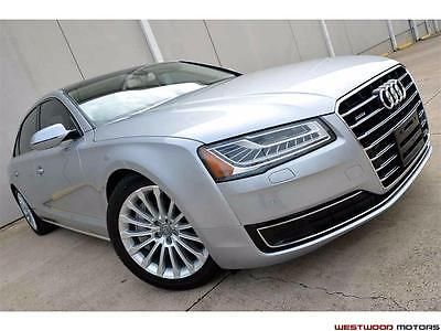 2015 Audi A8 L 4.0T Quattro MSRP $101k Premium Lux CWP Head Up  2015 Audi A8 L 4.0T Quattro MSRP $101k Premium Luxury Pano Head Up Cold Weather