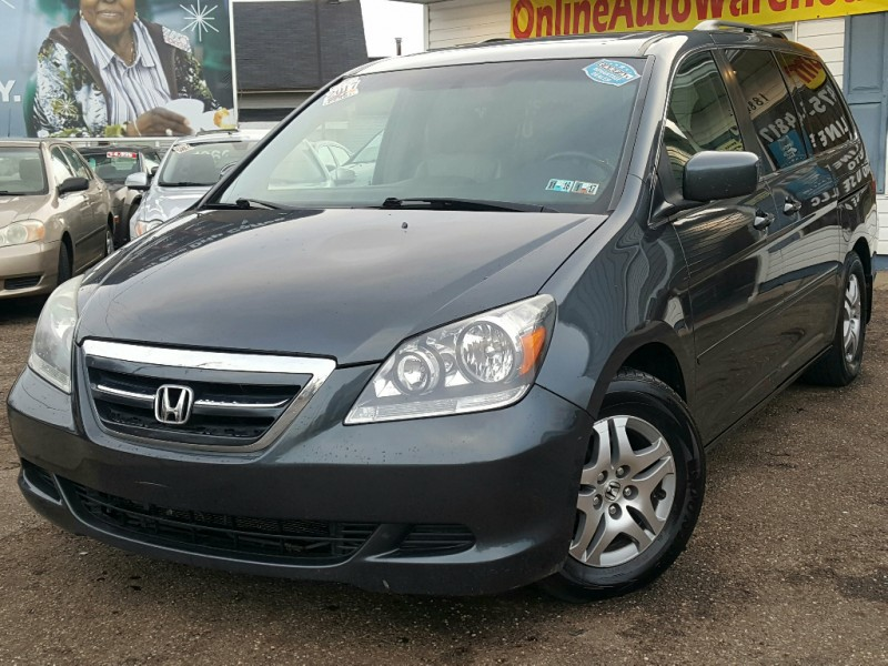 2006 *Honda* *Odyssey* EX-L FULLY LOADED LEATHER DVD SUNROOF CLEAN WE FINANCE
