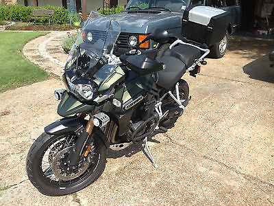 2014 Triumph Tiger  2014 Triumph Tiger Explorer XC - FULL TRANSFERRABLE WARRANTY TILL 11/2019