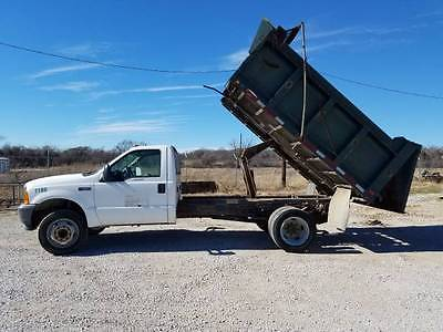 2001 Ford Other Pickups XL Cab & Chassis - Long Conventional 2-Door 2001 Ford F550 Dump Truck 7.3 liter Powerstroke Diesel Engine
