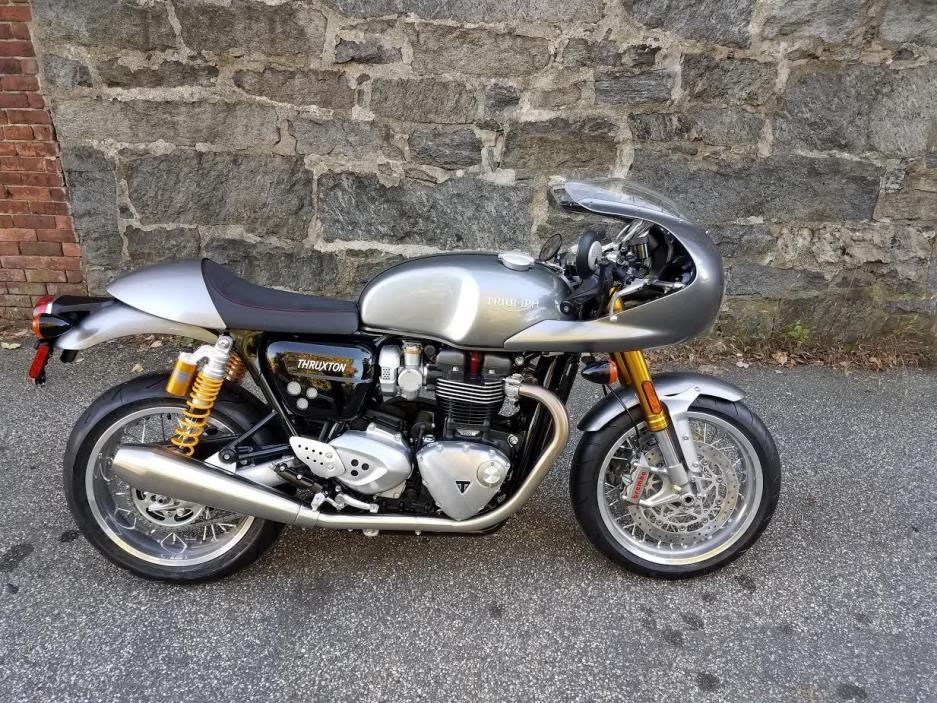 triumph thruxton motorcycles for sale in connecticut. Black Bedroom Furniture Sets. Home Design Ideas