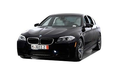 2013 BMW M5 -- 2013 BMW M5 25022 Miles Blue 4dr Car 8 Cylinder Engine 4.4L/268 7-Speed Manual
