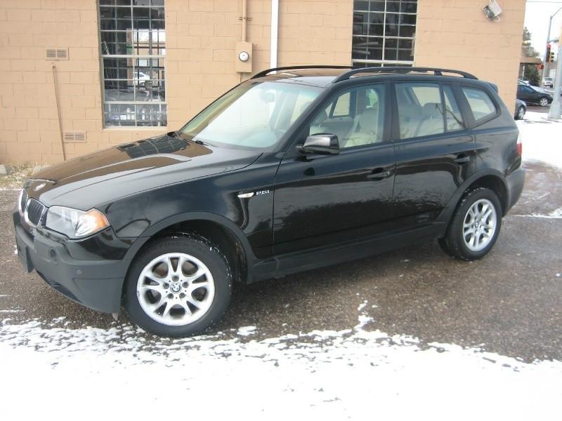2004 BMW X3 X3 4dr AWD 2.5i