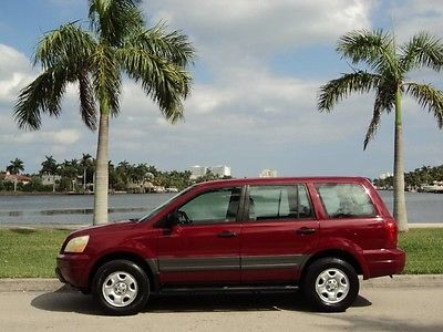 2003 Honda Pilot LX Sport Utility 4-Door 2003 HONDA PILOT LX AWD 4WD 4X4 FLORIDA 1OWN LOW 60K MILES 3ROW NO TOYOTA ACURA!