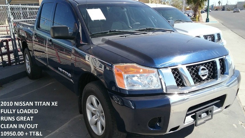 2010 Nissan Titan 2WD Crew Cab SWB XE