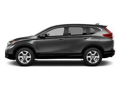 2017 Honda CR-V EX-L AWD w/Navi EX-L AWD w/Navi New 4 dr SUV CVT Gasoline 1.5L 4 Cyl Crystal Black Pearl
