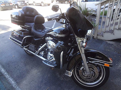 Harley-Davidson FLHTC Ultra Classic Electra Glide 100 Aniverssary edit 2003 STUNNING CLASSIC ELECTRA GLIDE 100TH ANNIVERSARY EDITION~BLACK BEAUTY~CLEAN