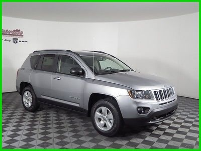 2017 Jeep Compass Sport FWD I4 DOHC SUV Radio 130 Audio Jack Input 2017 Jeep Compass Sport FWD SUV Keyless Entry Cloth Seats FINANCING AVAILABLE