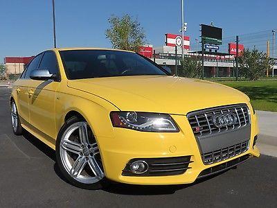 2010 Audi S4 Premium Plus 2010 Audi S4 Premium Plus 3.0T, AWD, Auto, Rare Imola Yellow, Nav, Bang Olufson