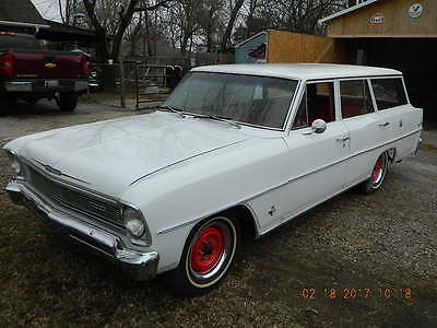 1966 Chevrolet Nova Chevy II Classic 1966 Chevy II Nova Station Wagon, one-family, original, runs great.