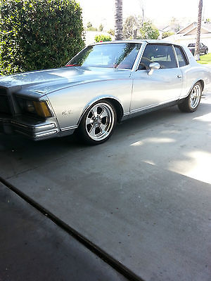 1978 Chevrolet Monte Carlo T-Top coupe 1978 Chevrolet Monte Carlo 305 V8 OHV AUTOMATIC All Originall Factory T-Tops