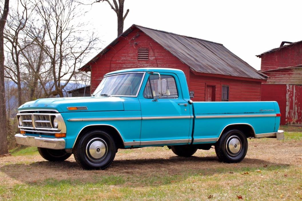 1971 Ford F-100 Sport Custom **ONE OWNER**F100*PATINA**BARNFIND**56K MILES**SHORTBED**SHOP TRUCK**FARM TRUCK*