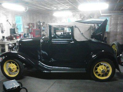 1930 Ford Model A Cabriolet 1930 model A ford CABRIOLET $18500