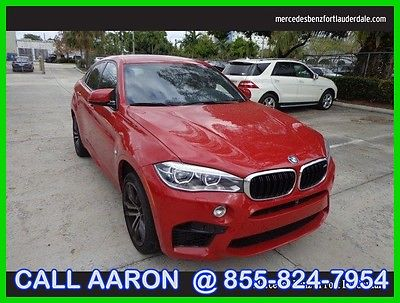 2015 BMW X6 WE SHIP, WE EXPORT, WE FINANCE 2015 BMW X6 M LUXURY SUV VERY RARE CAR MSRP WAS $113200!!! DRIVERS ASSIST + EXEC