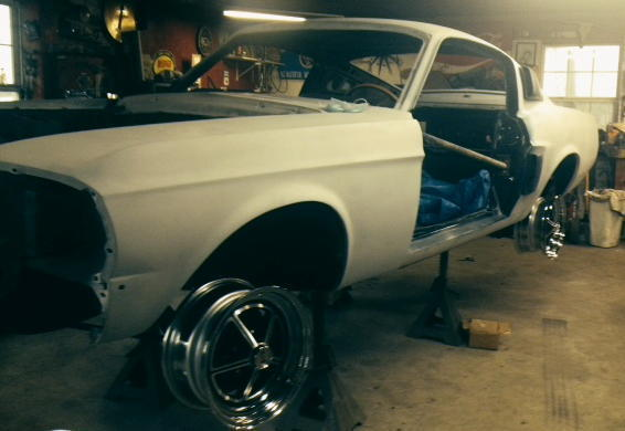 1967 Ford Mustang  1967 Shelby GT500 Project Car