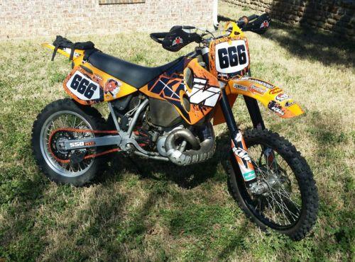 1996 KTM MXC  1996 KTM 550 MXC Custom w/ Title