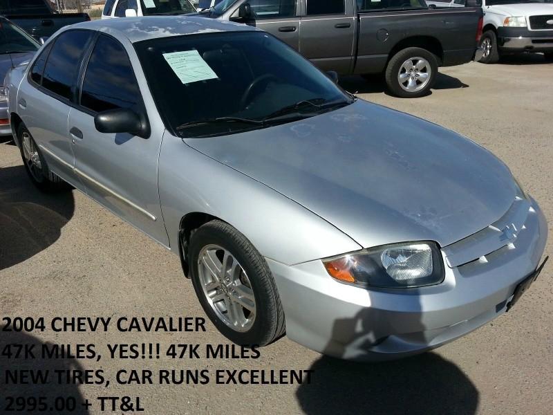 2004 Chevrolet Cavalier 4dr Base Sdn